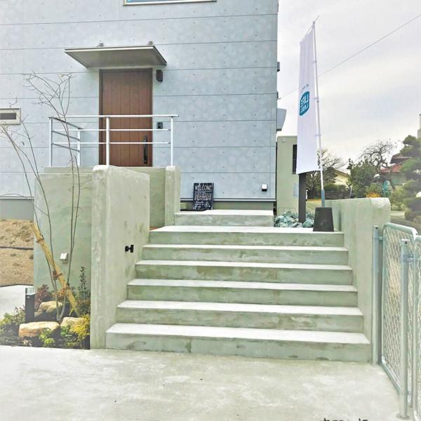 大牟田市 N様邸センスが光るカリフォルニアスタイルのお庭