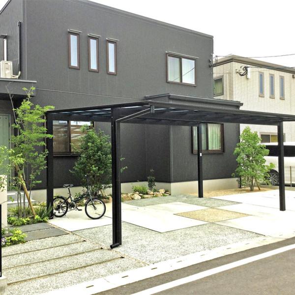三潴町K様邸話題の天然芝TM9を贅沢に施行した緑溢れる庭