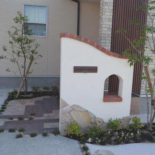 筑後市コンクリートの中の自然な空間