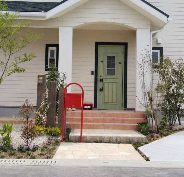 【三養基町】赤いポストの家【施工事例】